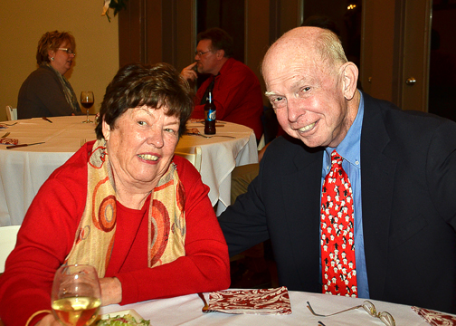 Lions Club member B.G. O'Reilly, who passed away last year. B.G was a long time member, a former club president, and one of the most loved and respected members in the club.