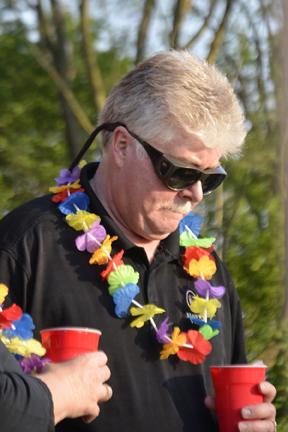 Club Treasurer Bill Henry