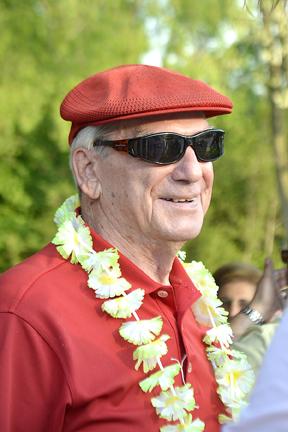 Club Treasurer Gene Haseley