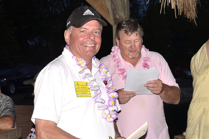 Here's Ray Jacobson, the Lake Geneva Lions Club's new Club Secretary