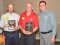 Bryan Smith and Ray Jacobson receive Lion of the Year plaques