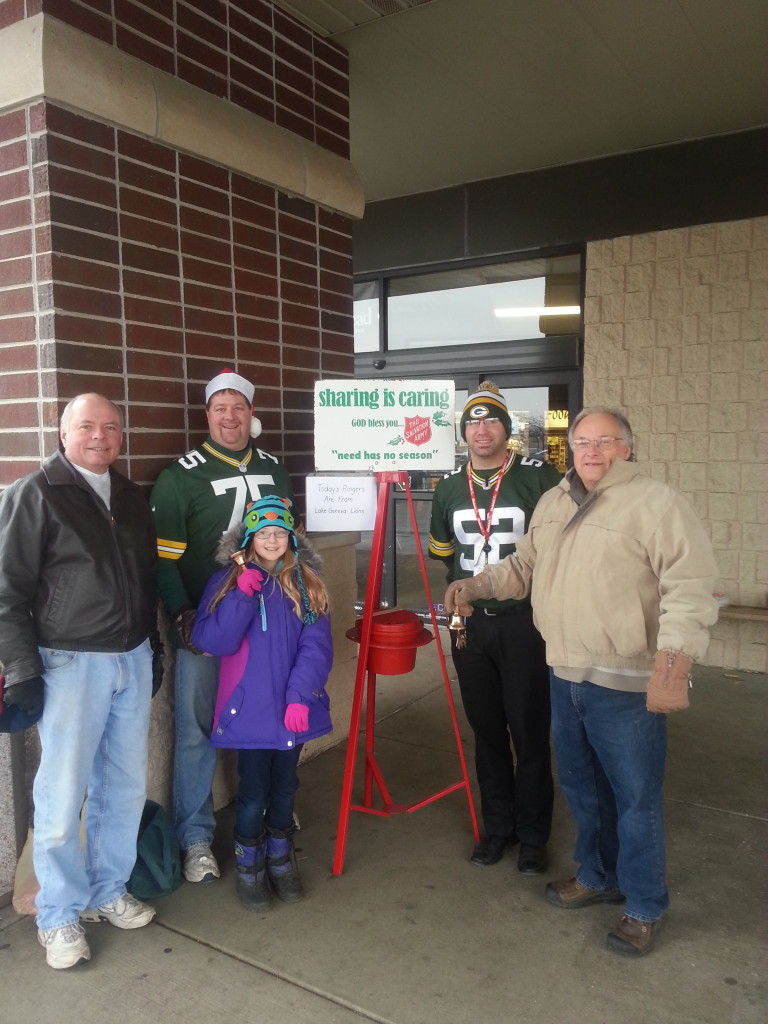 2014 Piggly Wiggly Salvation Army Bell Ringing